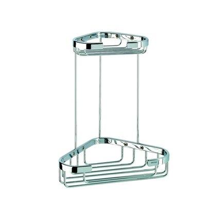 Fantastic Prices! Geesa 184-638845266819 Basket Collection Unique Brass Shower Basket, Chrome