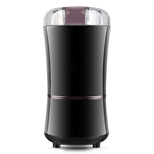 Donpow Elektrische koffiemolen, 150 W, roestvrij staal, voor specerijen, pepers, kruiden, schalen, zaden, granen