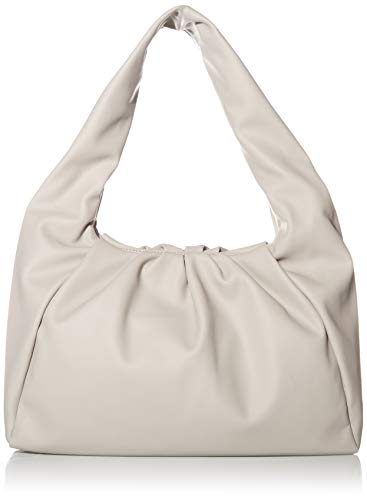 The Drop Women's Janelle Gathered Shoulder Bag, Ice Grey, One Size