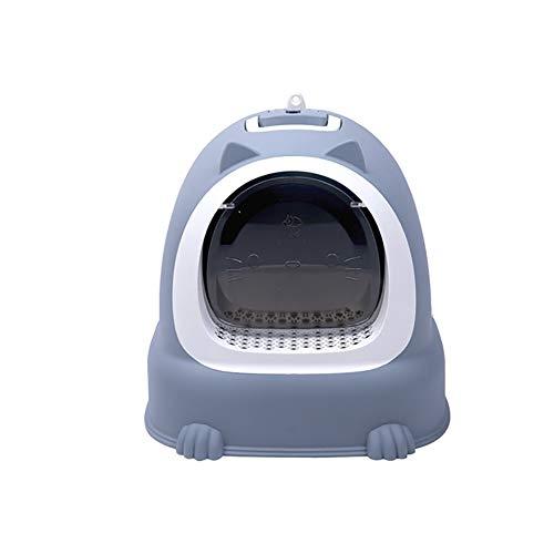 WYXR Bac à litière pour Chats Toilette Chat litiere autonettoyante Chat Maison de Toilettes pour Chat fermé litiere Chat autonettoyante bac a litiere,A