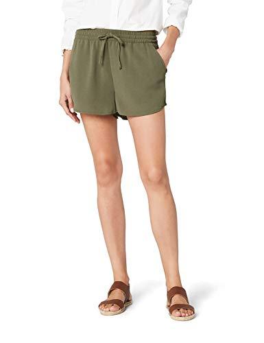 ONLY Damen Onlturner WVN Noos Shorts, Grün (Kalamata Kalamata), W(Herstellergröße: 40)