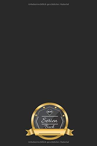 Serien Buch: Schlicht Schwarze Serien Sammlung • Best of Serien • Serien Highlights • 50 Seiten ║ Kritik Heft - ca. DIN A5 Format ║ kleines Geschenk für Freunde und Familie