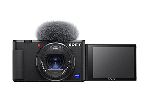 Sony Vlog Camera ZV-1 - Fotocamera Digitale con schermo LCD direzionabile ideale per Vlog e video 4K