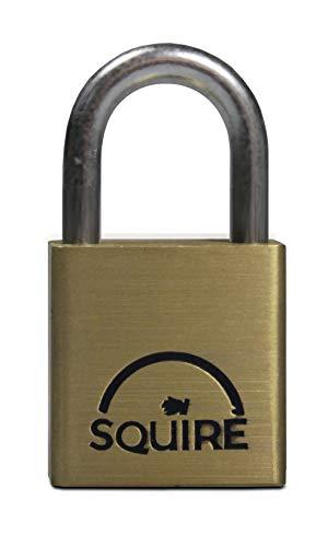 cadenas Noir 120 cm x 14 mm Squire Cadenas Chaîne Ss65Cs chaîne