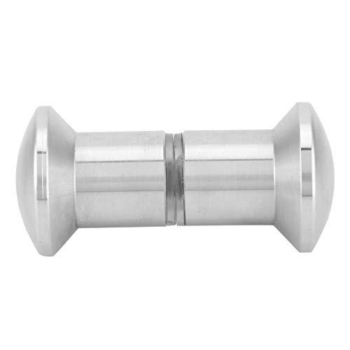 6.5x3x3cm B8006 glasdörrhandtag rostfritt stål rygg-mot-rygg duschrum dörrknopp möbler för glas skjutdörr