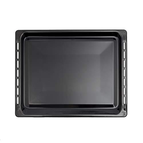 MIRTUX Bandeja Compatible con Horno Teka. Medidas Medidas: 460X368mm. Color Negro. Válida para Diferentes Modelos: HC485ME, HI435ME, HE720ME, HC490ME.