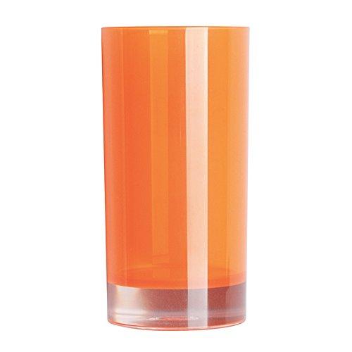 Excelsa Linea Bagno Bicchiere Portaspazzolini, Arancio