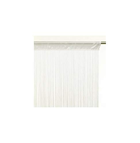Tenda a fili (90 x H200 cm) Tinta unita Avorio