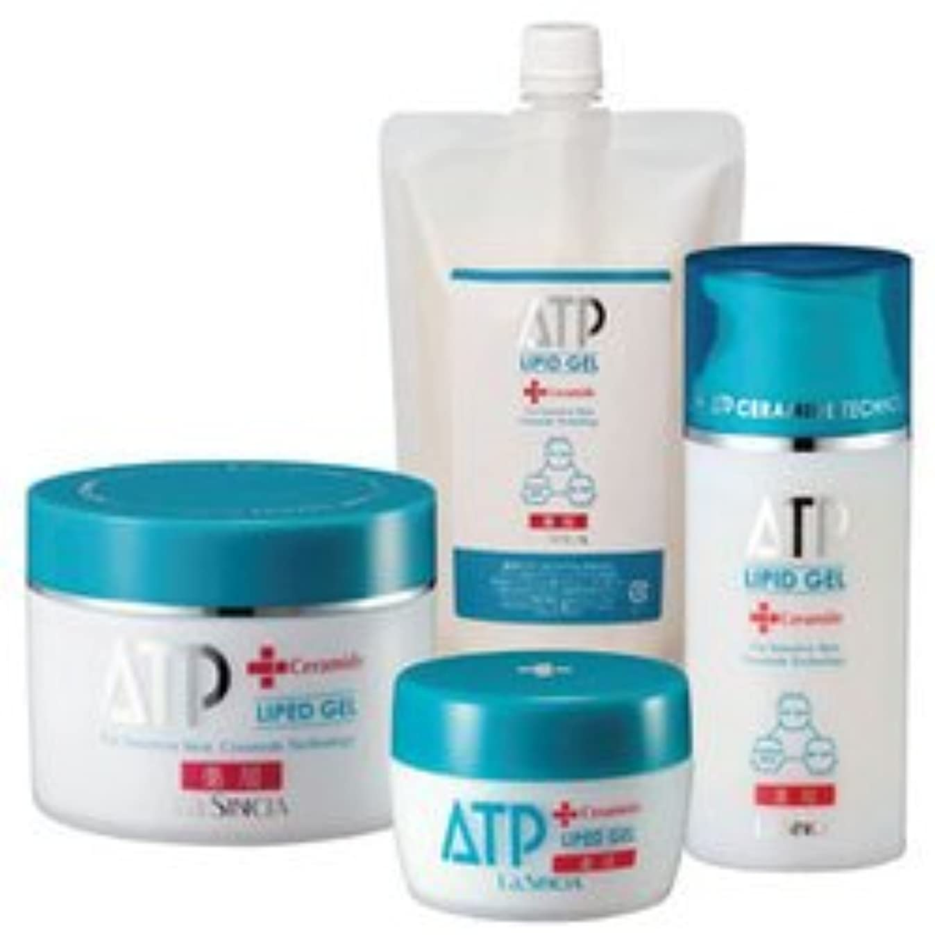 寺院援助起こるラシンシア 薬用 ATP リピッドゲル 400g 詰替用