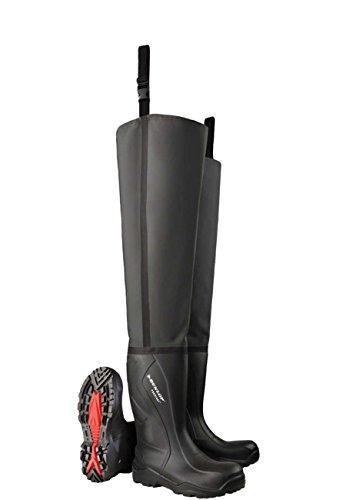 Dunlop C762043.TW Purofort+ S5 watt- en vislaarzen - zwart
