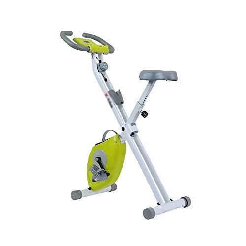XJWWW-URG Cubierta Plegable magnético Bicicletas Delgado Ejercicio  El Paquete Incluye más Grande Asiento Blando, Soporte for teléfono Celular, Control Remoto Titular Colocación URG