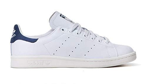 Adidas Stan Smith Hombre Zapatillas Deportivas D67362 Neo Blanco Azul Marino Blanco Gris Claro