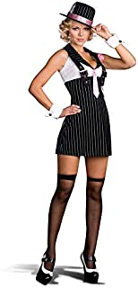DreamGirl Dirty Sexy Money Gangster Girl Costume Adult Large
