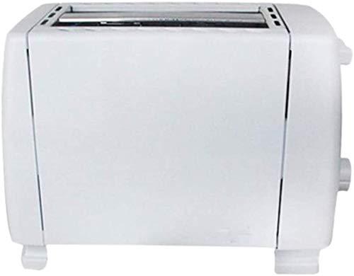 GJJSZ Frühstücksmaschine 750W 5 Gang Edelstahl 2 Scheiben Slots Brotbackautomat Automatisches Brot Toaster Backen