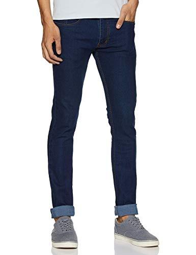 Neostreak Men's Slim Fit Stretchable Jeans (neoep-Dblue Dark Blue_30