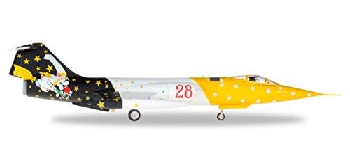 Herpa 580205Italian AF Lockheed RF f-104g Starfighter 28Grupo, 3° Stormo Strega in Miniatura Veicolo