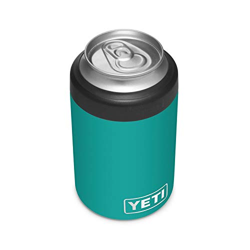 YETI Rambler 12 oz. Colster Can Insulator for Standard Size Cans, Aquifer Blue