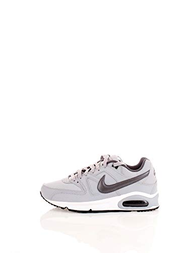 Nike Herren Air Max Command Leather Shoe Laufschuhe, Grau (Wolf Grey/MTLC Dark Grey/Black/White 012), 40 EU