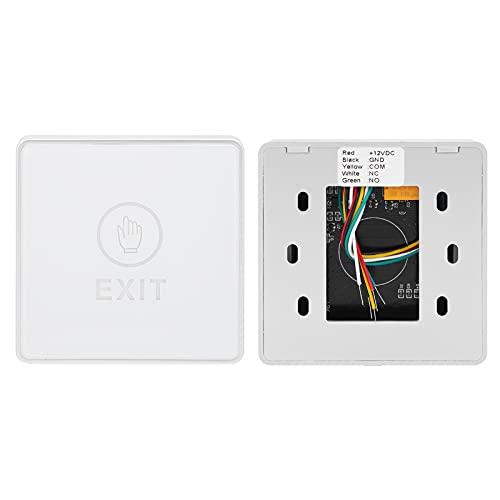 ROMACK Sistema de Control de Acceso, Panel acrílico Interruptor Inteligente fácil de Instalar Tres Cables con Pantalla LED para el hogar para la Seguridad de la Puerta