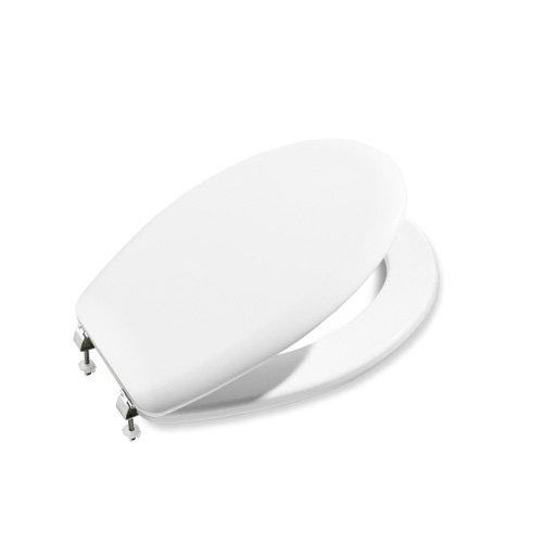 Roca A801390004, Asiento y tapa, Colección Victoria, color blanco