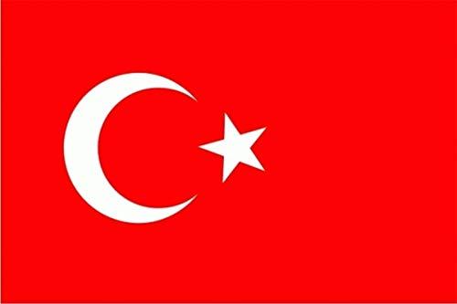 2 x Fahne Flagge Türkei 90x150 cm Hissflagge Hißflagge Fahnen Flaggen Flag Flagge Türkiye Bayrak