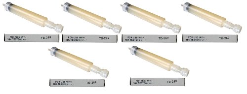 Tri Electronics Gold Tester Gel Tube Refill Cartridge TB-289 GT-3000 GXL-18 6 pc