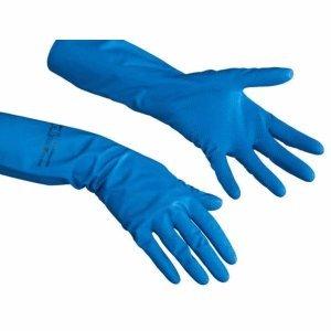 Vileda Comfort - Guantes (talla L), color azul