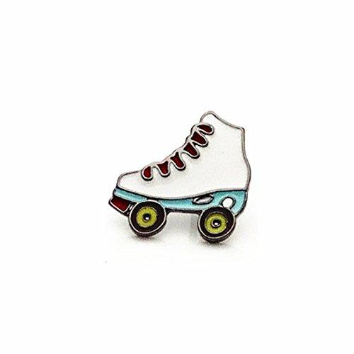 My Dream Day Elegante Skate Schuhe Skate Schuhe Schlittschuhe kleine Katzen und Kleintiere im glänzenden Mode Mode schöne Brosche Pins Rücken Deko Paket von...