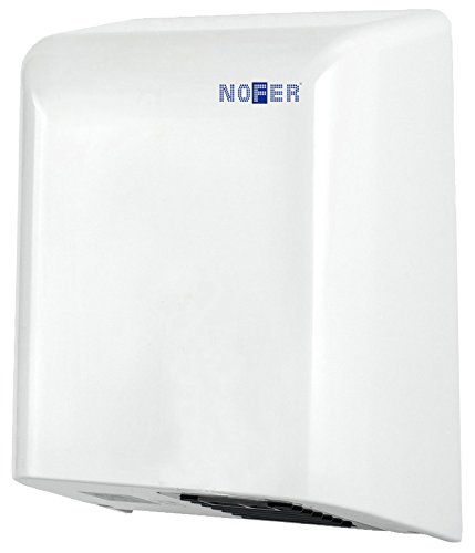Nofer 01461.W Secamanos BIGFLOW Sensor Electrico ABS Blanco, 325x255x152