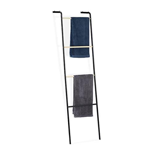 Relaxdays -   Handtuchleiter aus