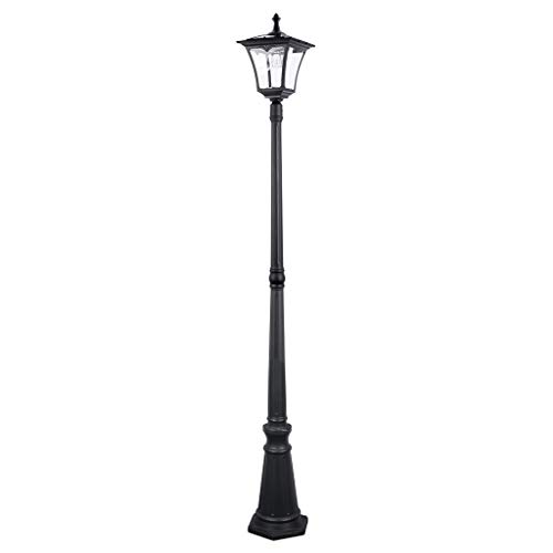 Sterno Home Outdoor Solar LED Street Lamp