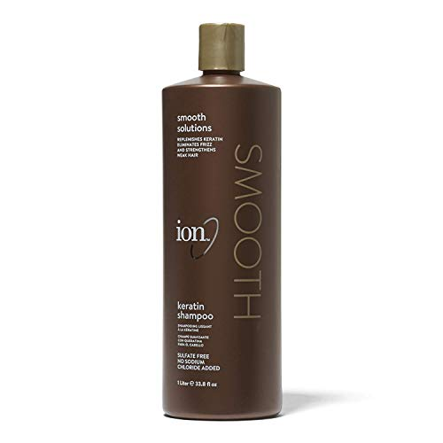 Ion Keratin Smoothing Shampoo 1LT.(33.8OZ)