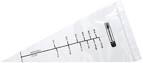 FM PROFESSIONAL, transparent Schmelz-/Spritzbeutel, FMprofessional, PP, ca. 300x150 mm, 50 STK, Kunststoff, 15 x 30