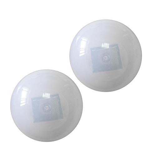 Homyl 2 Stück Schwimmende Balllampe Solarlampe Poolbeleuchtung für den Garten, Schwimmbecken,Teich Deko, Wasserdicht