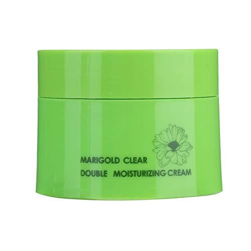 Crema facial, extractos de plantas hechos de caléndula ingredientes ácido hialurónico