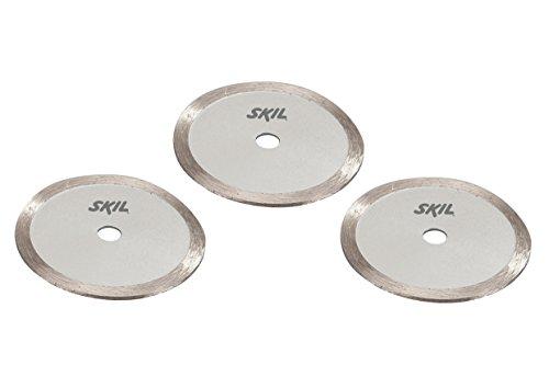 Skil Diamantscheiben (3-tlg. Set; für Schnitte in Materialien wie Keramikfliesen; Ø 85 mm) 2610Z06138