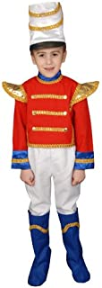 Dress Up America Deluxe Toy Soldier Costume Set - Small 4-6