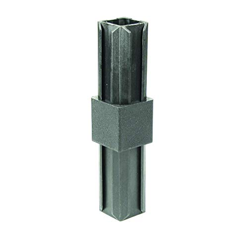 GAH-Alberts 426439 XD-Rohrverbinder   gerade   Kunststoff, schwarz   30 x 30 x 2,0 mm   10er Set