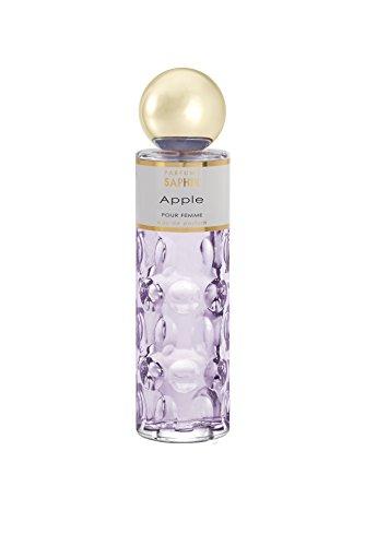 PARFUMS SAPHIR Apple, Eau de Parfum con vaporizador para Mujer, 200 ml