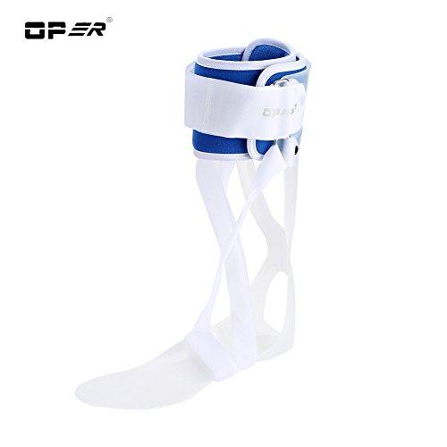 Soporte para el Tobillo, ortesis la caída del pie, férula ortodoncia ortopédica, Aprobado por FDA(Left M)