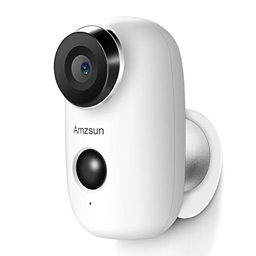 Wireless Battery Powered Camera with Rechargeable HD 1080P, Motion Detection, Two-way Audio Talk,...