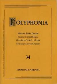 Nosetti, Massimo: Polyphonia 34 gemischter Chor (SATB)