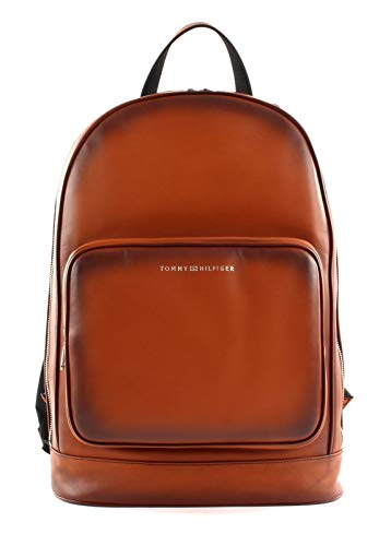 Tommy Hilfiger Casual Leather Backpack Congnac
