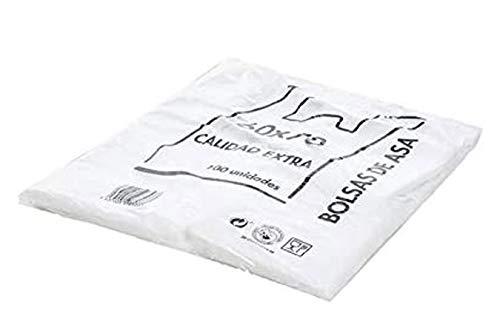 ZT Bolsa de plastico Asa Camiseta Blanco Verde Multiples Tam