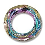 Swarovski Cosmic Ring Component 4139 14mm Crystal Vitrail Light (Package of 3)