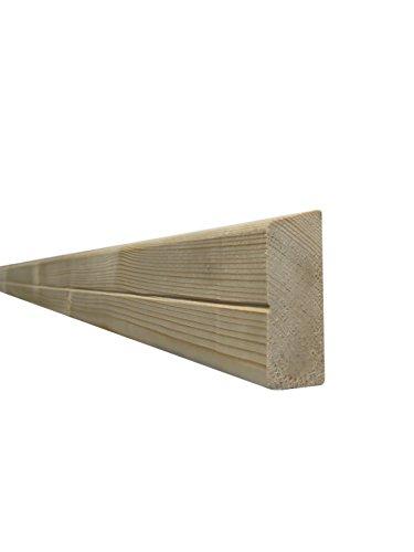 Querriegel für Holzzaun/Balkon (4 Stück) - Fichte - 3070/1 (70x1480x28mm)
