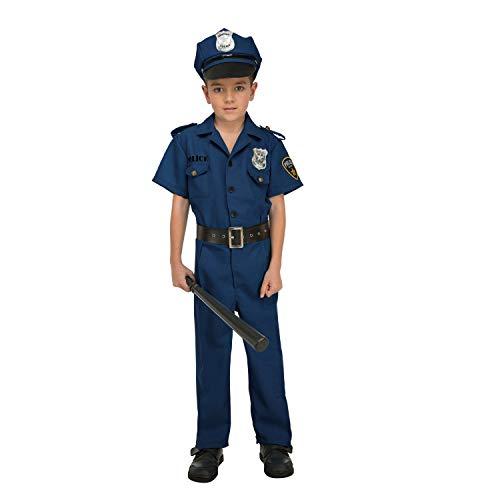 My Other Me Me-204239 Disfraz de policía para niño, 7-9 años ...