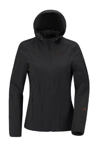 Maier Sports Damen Softshelljacke Corinna, Black, 36, 260772