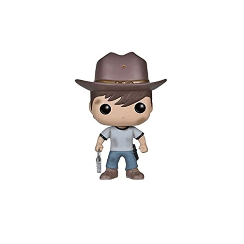 MCC Studio Funko Pop Television : The Walking Dead - Carl 3.75inch Vinyl Gift for Zombies Television Fans Bobblehaed