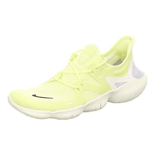 Nike Men's Free Rn 5.0 Track & Field Shoes, Multicolour (Luminous Green/Black/Sail/Pure Platinum 000), 7.5 UK
